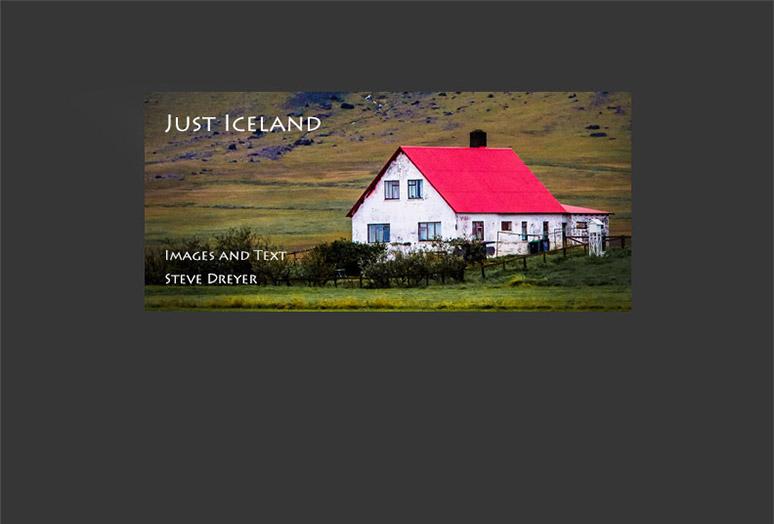 Iceland Folio Cover